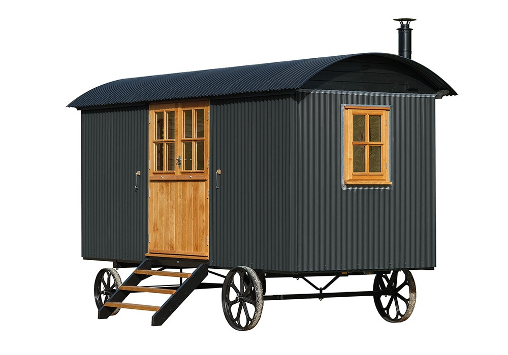Shepherd hut in Studio Green