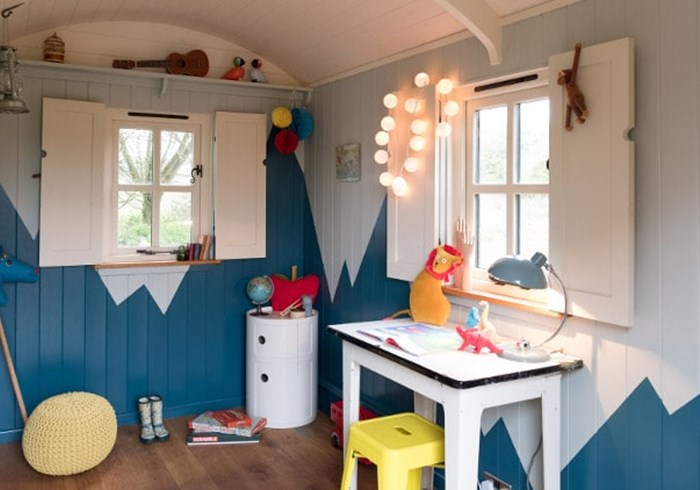 Shepherds Hut Interior 3