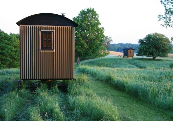 Shepherd's Huts for Business - External