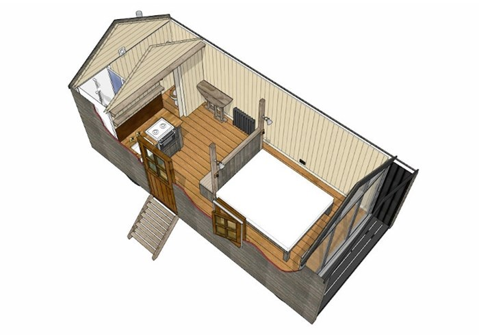 Custom Made Huts - Example 1