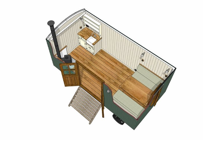 The Cabin Shepherds Hut - Example 2
